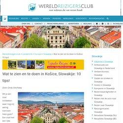 Wat te doen in Košice, Slowakije: 10 tips!