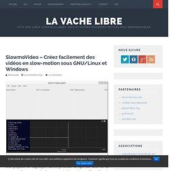 SlowmoVideo – Créez facilement des vidéos en slow-motion sous GNU/Linux et Windows