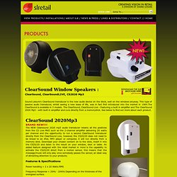 SLRetail : a Division of Sound Leisure