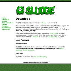 SLUDGE Adventure Game Engine - Download