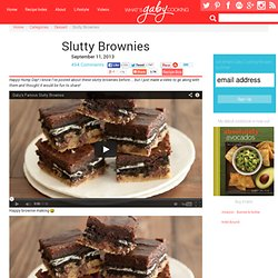 Slutty Brownies Recipe
