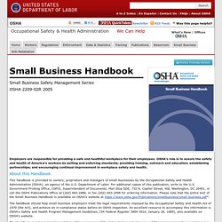 Small Business Handbook