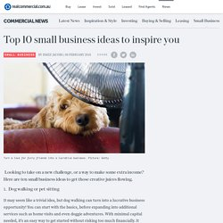Top 10 small business ideas to inspire you