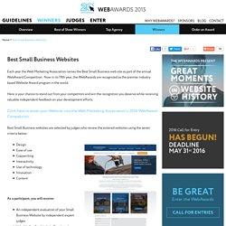 Best Small Business Website Awards
