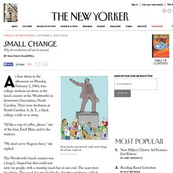 Small Change - The New Yorker