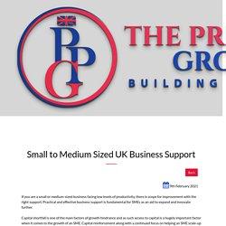 Small to Medium Sized UK Business Support UK