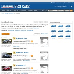 Best Small Cars Rankings