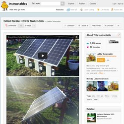 Small Scale Power Solutions - All