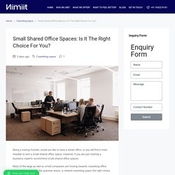 Small Shared Office Space in Delhi