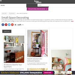 Decorating Small Spaces - BHG.com