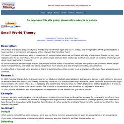 Small World Theory