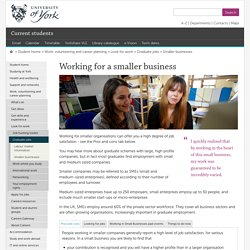 Smaller businesses - Student home, The University of York