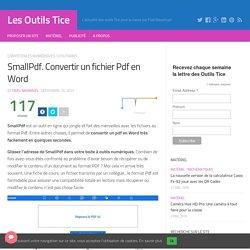 Outils informatiques cdilefousseret pearltrees - Convertir fichier pdf en open office ...