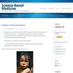 Smallpox and Pseudomedicine