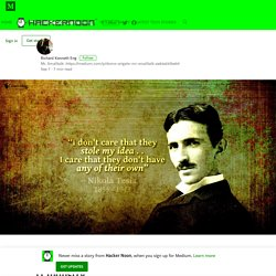 Smalltalk May Be the Nikola Tesla of the IT Industry