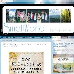 Creative Writing Activities For High Schoolers   custom essay     lbartman com the pro math teacher