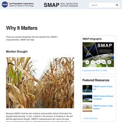 SMAP: Why It Matters