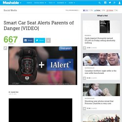 Smart Car Seat Alerts Parents of Danger