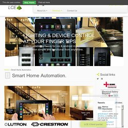 Smart Home Automation - LCE CONTRACTS