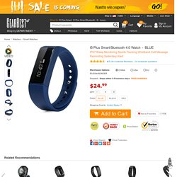 I5 Plus Smart Bluetooth 4.0 Watch-24.99 and Free Shipping