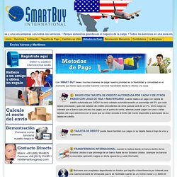 Smart Buy Group - Metodos de Pago
