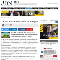 Smart cities : où sont-elles en Europe ?