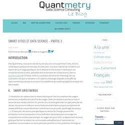 Smart Cities et Data Science – Partie 2 – le blog