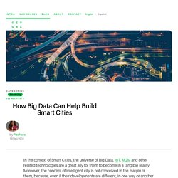 Big Data and Smart Cities: How to find sinergies in between