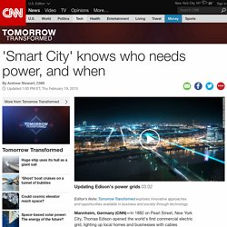 'Smart City' knows who needs power, and when