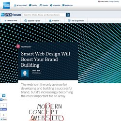 Smart Web Design Will Boost Your Brand Building