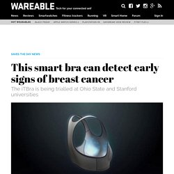 This smart bra can detect early signs of breast cancer
