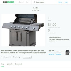 Smart Grill by victor ortiz