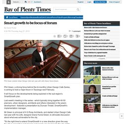 Smart growth to be focus of forum -NZ