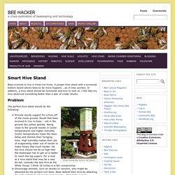 Smart Hive Stand « Bee Hacker