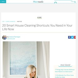 20 Smart House Cleaning Shortcuts You Need in Your Life Now
