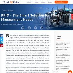 RFID For Smart Fleet Management Solutions - Truck Pulse