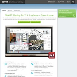 SMART Meeting Pro™ 4.1 software