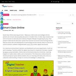 Smart Class Online - Digital Teacher