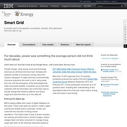 Smart Grid - Ideas