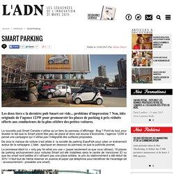 Smart Parking (dont vidéo)