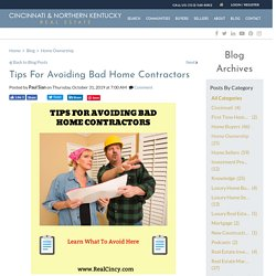 Smart Tips For Picking The Right Contractor