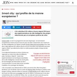 Smart city: qui profite de la manne européenne?