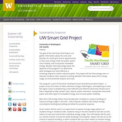 UW Smart Grid Project