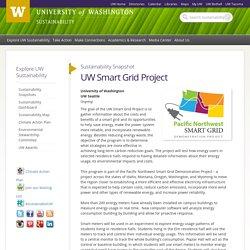 UW Smart Grid Project