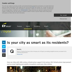 Is your city as smart as its residents?