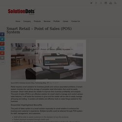Smart Retail – Point of Sales (POS) System -
