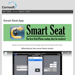 Manage your classroom with Smart Seat, the first iPhone seating chart
