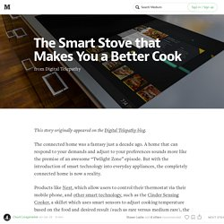 The Smart Stove that Makes You a Better Cook
