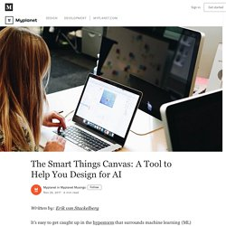 The Smart Things Canvas: A Tool to Help You Design for AI