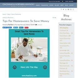 Smart Tips For Saving Money